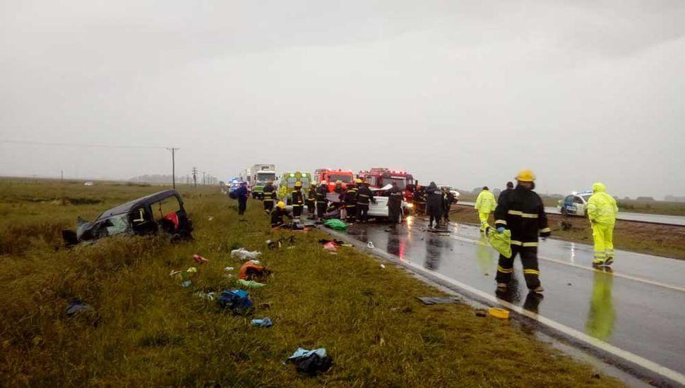 El 24 de octubre perdieron la vida tres ocupantes de la Kangoo.
