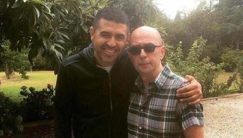 Juan Román Riquelme y Carlos