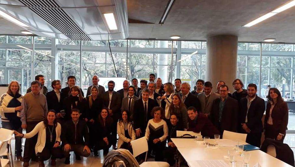 Funcionarias juninenses, en el Encuentro Federal de Ciudades Argentinas.