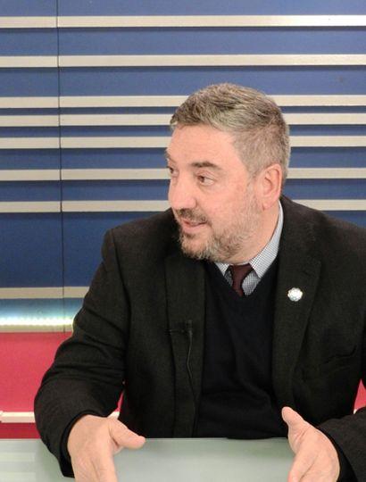 Guillermo Tamarit, rector de la Unnoba, participó del ciclo televisivo Reporte Especial.