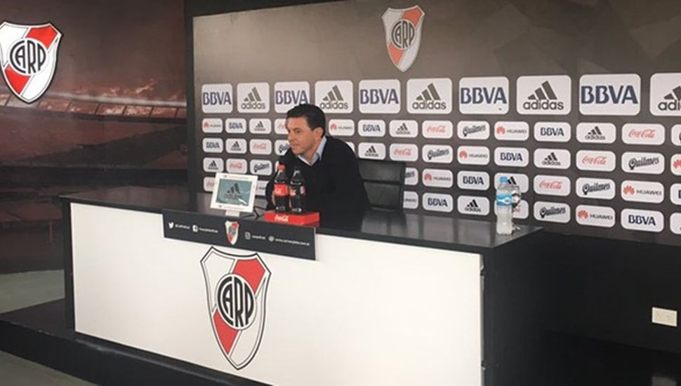 """""""River es demasiado grande como para que los jugadores se vayan a otro club"""""""