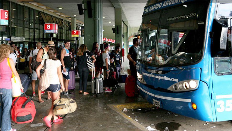 "Mañana comenzarán a vender pasajes ""low cost"" para ómnibus de larga distancia"