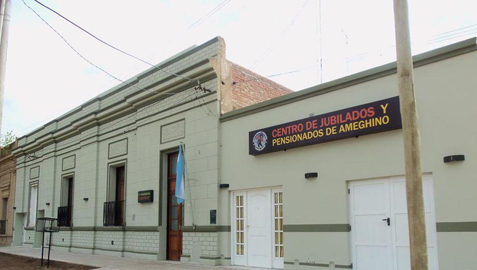 Centro de Jubilados de Florentino Ameghino.