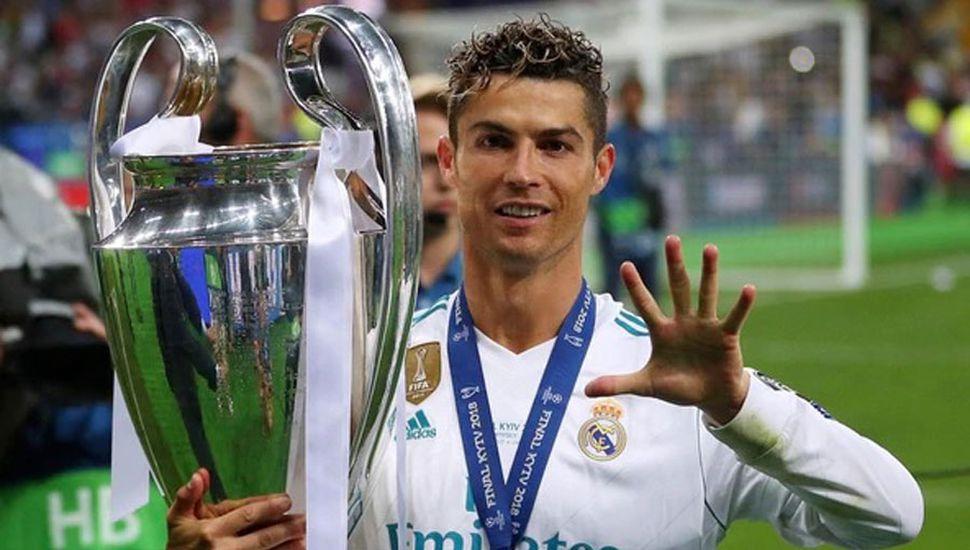 Cristiano Ronaldo fue transferido a  la Juventus por 112 millones de euros