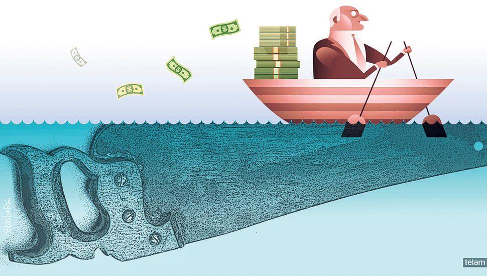 """Se buscan """"enemigos"""" en medio de la creciente crisis económica"""