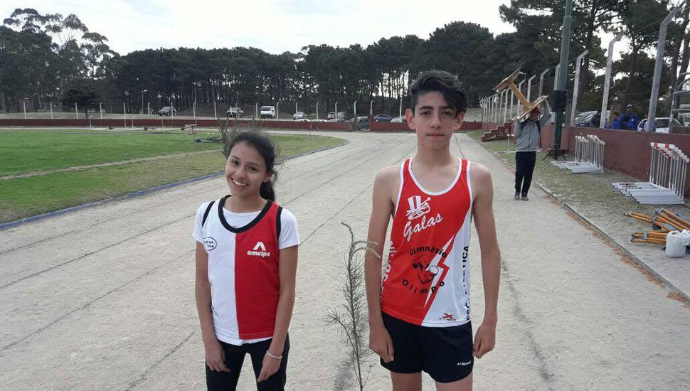 Gianna Cottini y Bruno Tridone.