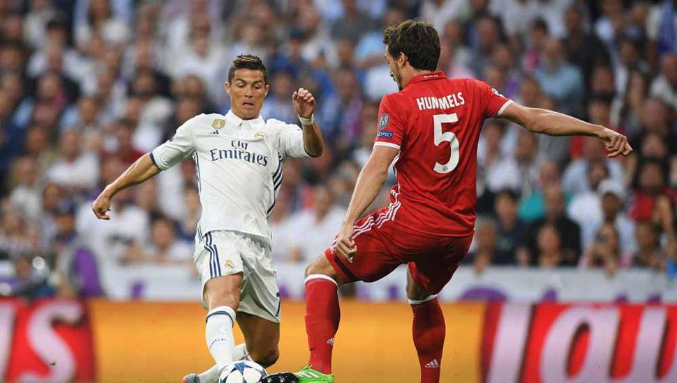 Real Madrid vs. Bayern Münich, una de las semifinales.