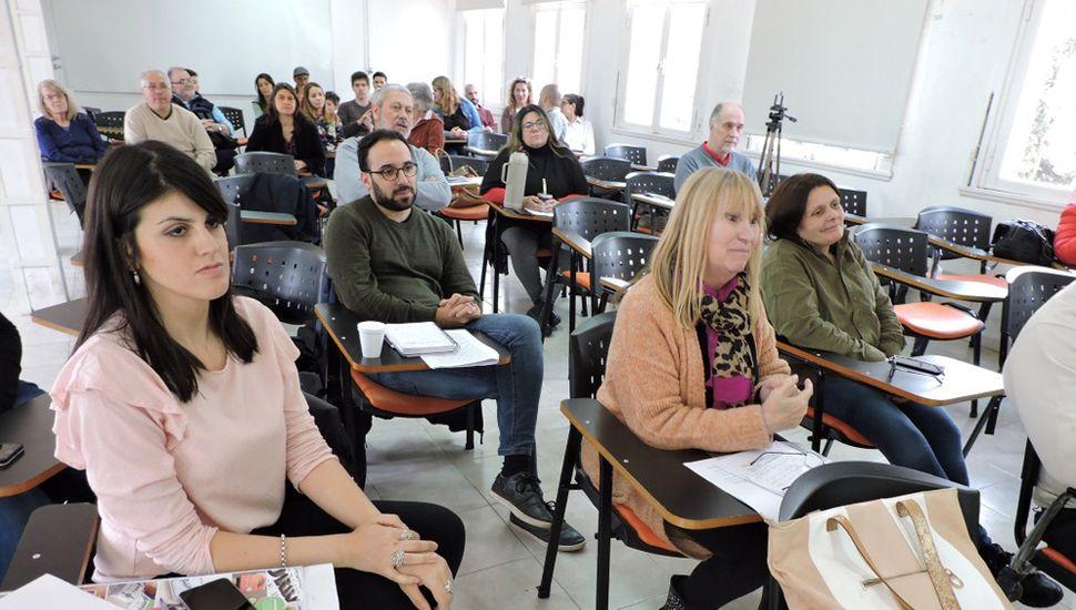 Participantes del doctorado en Historia.