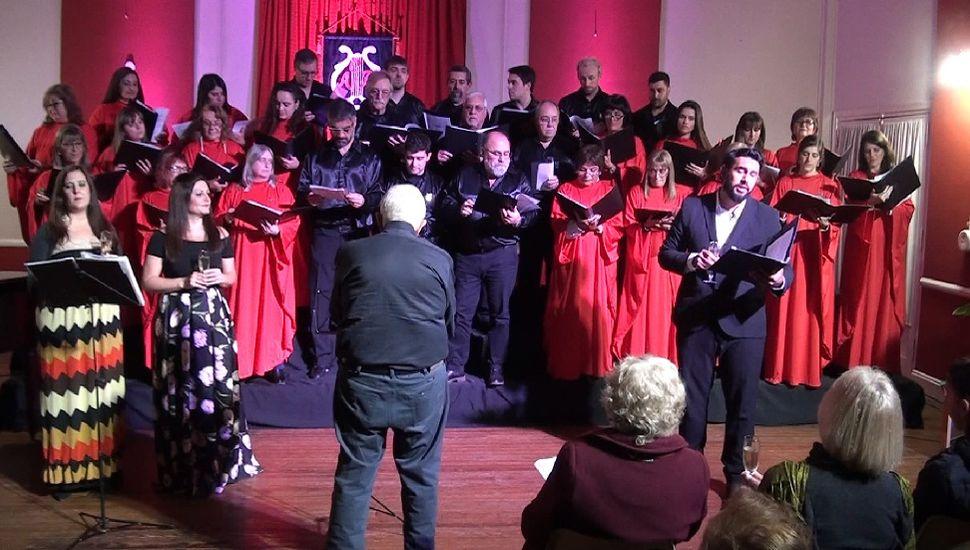 Emotivo concierto lírico en Rojas
