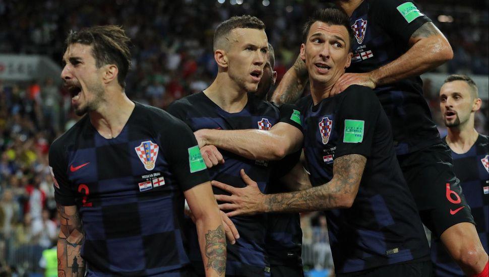 Histórico: Croacia le ganó a Inglaterra 2 a 1 y jugará por primera vez la final de un Mundial