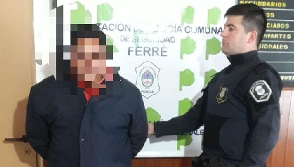 Detuvieron a un hombre de 42 años en Arenales