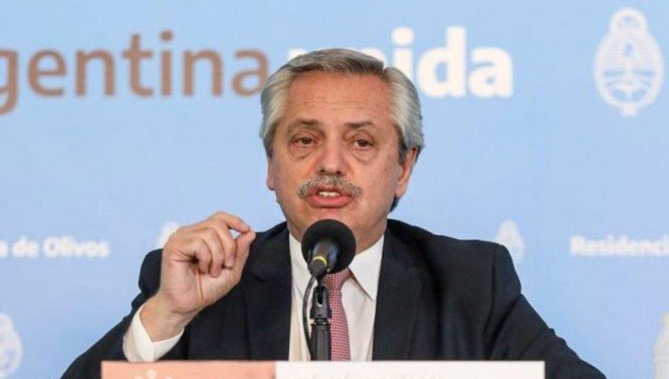 Alberto Fernández anunció la ampliación de la cuarentena hasta el 28 de junio