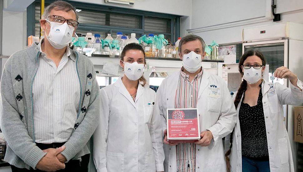 Cómo trabajan los científicos que crearon  el neokit para detectar coronavirus