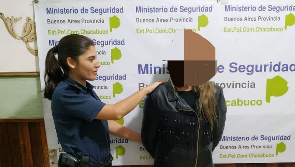 Aprehenden a una mujer por amenazas calificadas en Chacabuco