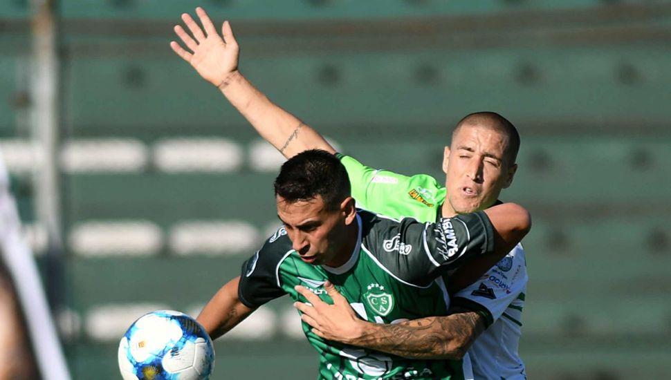 Nicolás Miracco, delantero del Verde.