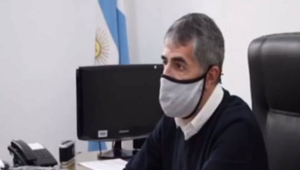Andrés Rosa, secretario de Seguridad.