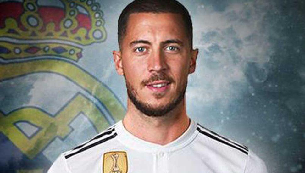 Hazard pasó al Real Madrid  por 100 millones de euros