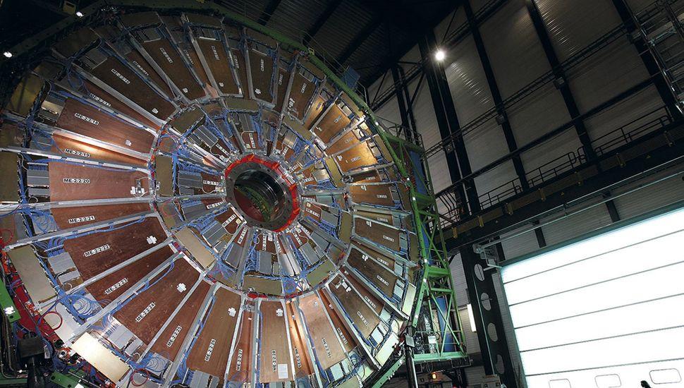 El llamado CMS (Solenoide Compacto de Muones) es uno de los cuatro grandes detectores del Gran Colisionador de Hadrones.