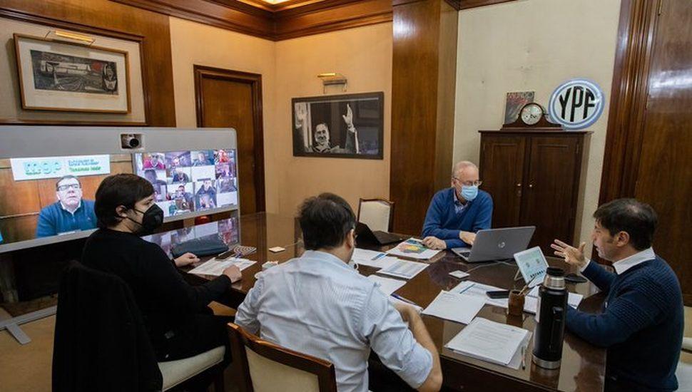 Gustavo Traverso se reunió con Kicillof