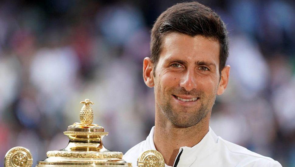 Novak Djokovic ratificó en Wimbledon porqué es el tenista N° 1 del mundo.