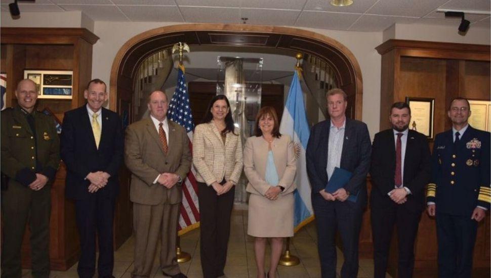 """Bullrich confirmó que se creará una """"task force"""" con EE. UU. en Posadas"""