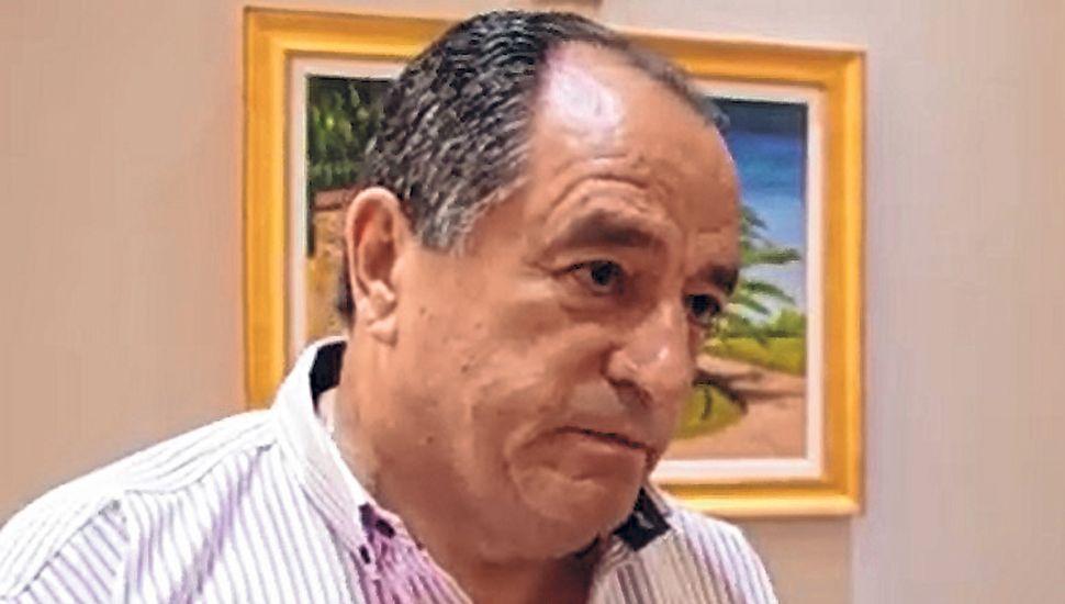 Raúl Parejas, presidente de Comercio e Industria de Junín.