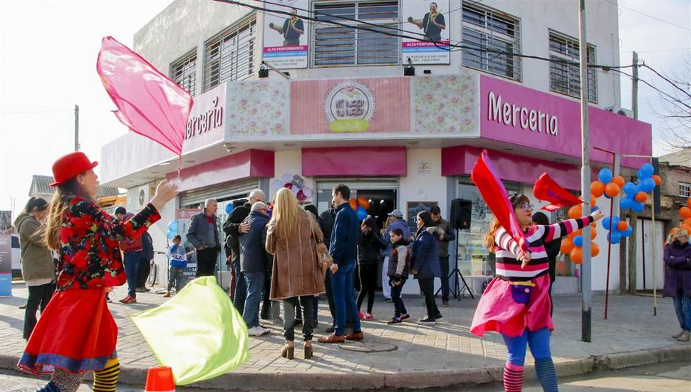 Quedó inaugurado el centro comercial a cielo abierto