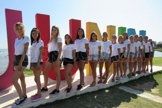 """Las chicas visitaron el Parque Natural """"Laguna de Gómez""""."""