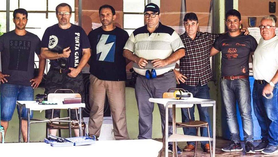 Algunos de los participantes de los torneos que se realizan en el TFJ.