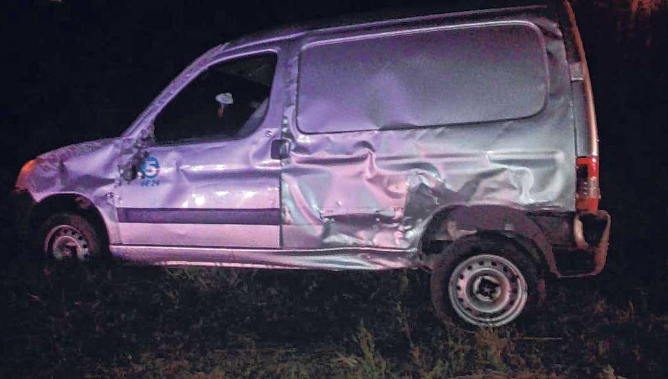 Varios heridos en un choque en Ruta 188