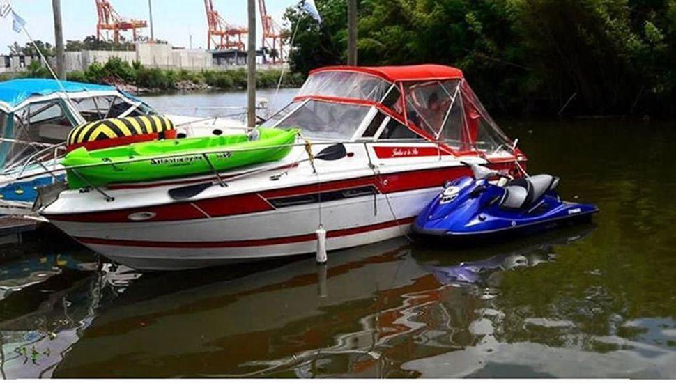 Los posteos que hacía en redes sociales la hija de Casado, exhibiendo embarcaciones de lujo de su familia.