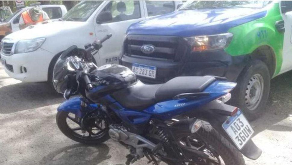 Operativo policial en Rojas: secuestraron 35 motos