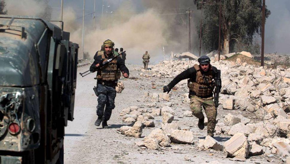 Derrota yihadista en Mosul