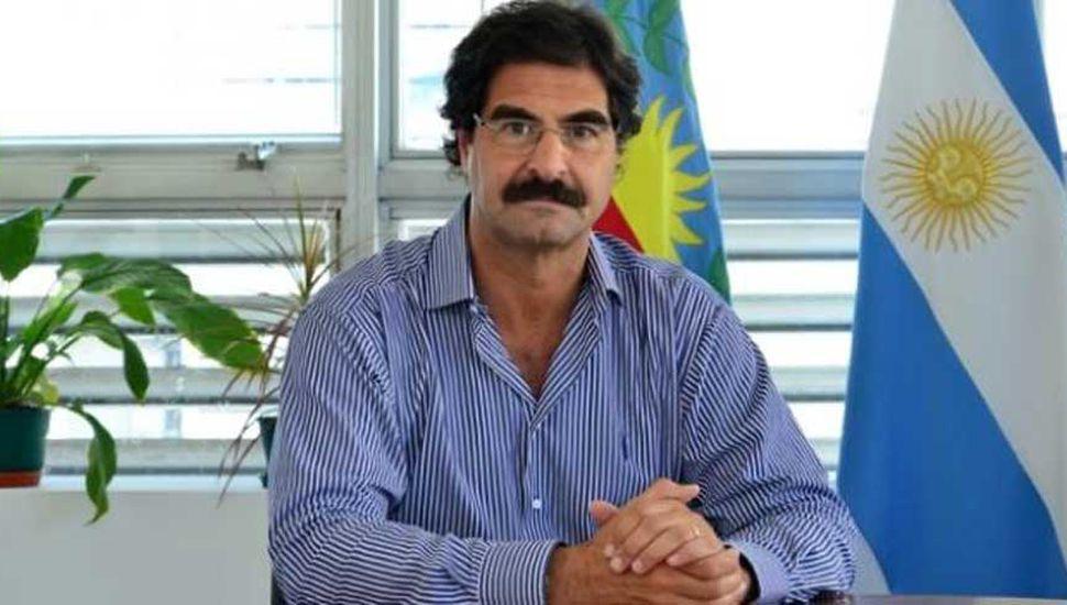 Leonardo Sarquís, ministro de Agroindustria.