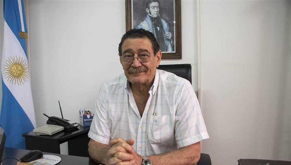 Julio Ferrero, director de Zoonosis y  Bromatología.
