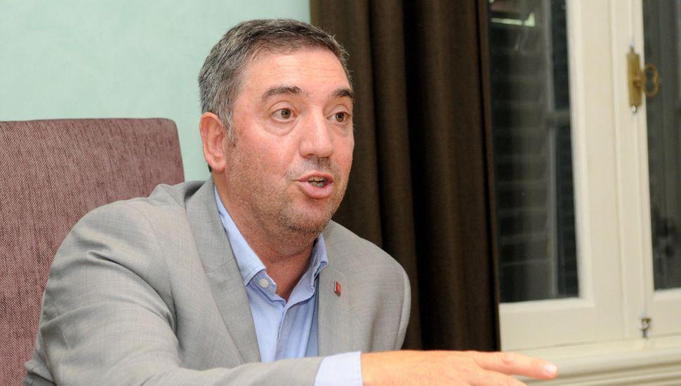 El rector de la Unnoba, Guillermo Tamarit.