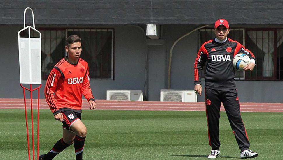 Gonzalo Montiel y Marcelo Gallardo.