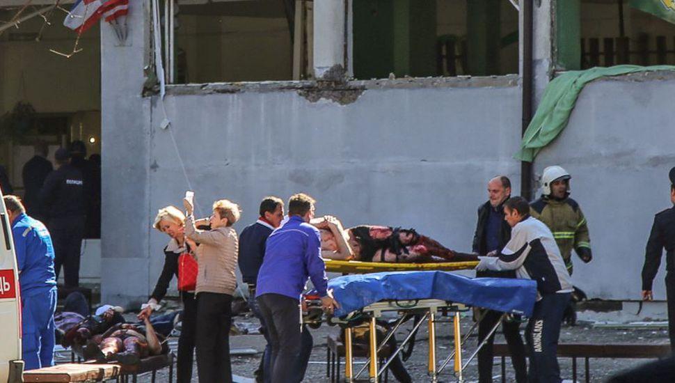Un estudiante mató a 19 personas en Crimea y se suicidó
