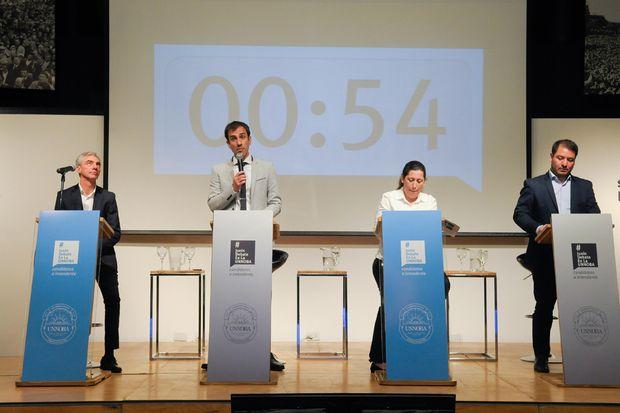 Con escasos cruces y algunas chicanas, se realizó el debate de candidatos a intendente.