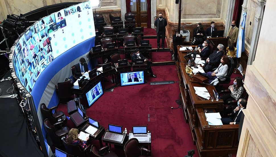 El Senado debate el proyecto de reforma judicial