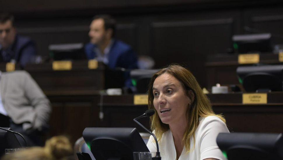 Valeria Arata, diputada provincial por el Frente de Todos.