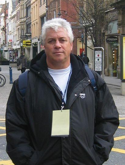 El reconocido entrenador Orlando Moccagatta tuvo a su cargo por dos décadas a la selección nacional de natación.