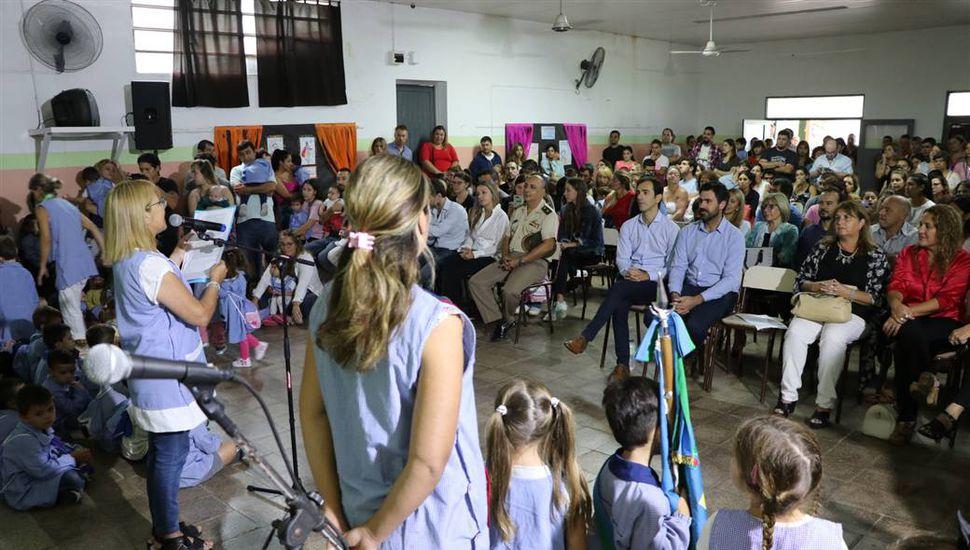 Realizaron el acto oficial de inicio del ciclo lectivo 2019 en Junín