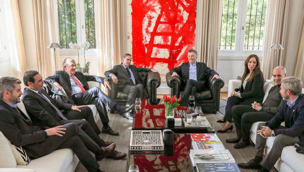Macri sumó el respaldo de 4 de sus cinco gobernadores