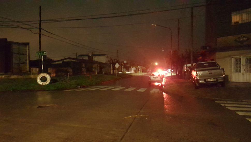 Las calles de Junín evidenciaron el apagón a lo largo de las más de 12 horas sin energía.