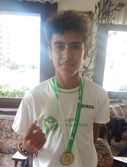 El atleta juninense Uriel Muñoz competirá en 800 y 2000 metros, en los Juegos Nacionales Evita 2019.