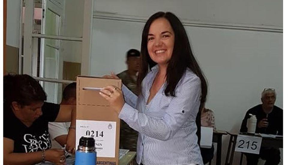 """Carolina Echeverría: """"Cumpliendo con el derecho cívico"""""""