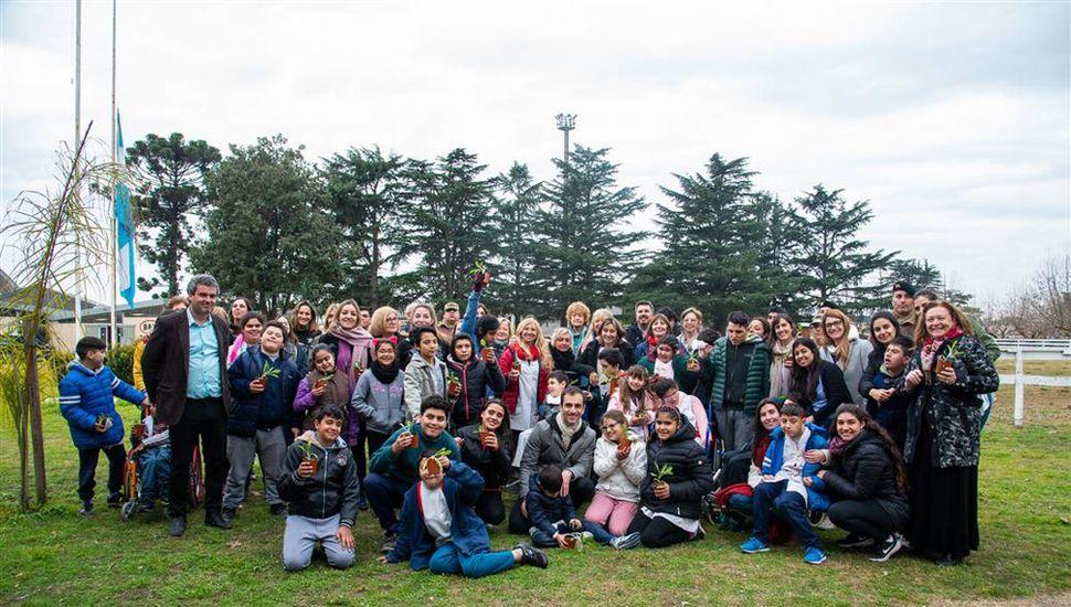 Se llevó a cabo en el predio de la Sociedad Rural de Junín la última clase de la escuela de equinoterapia.
