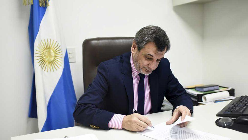 Sergio Buil, diputado nacional por Cambiemos.