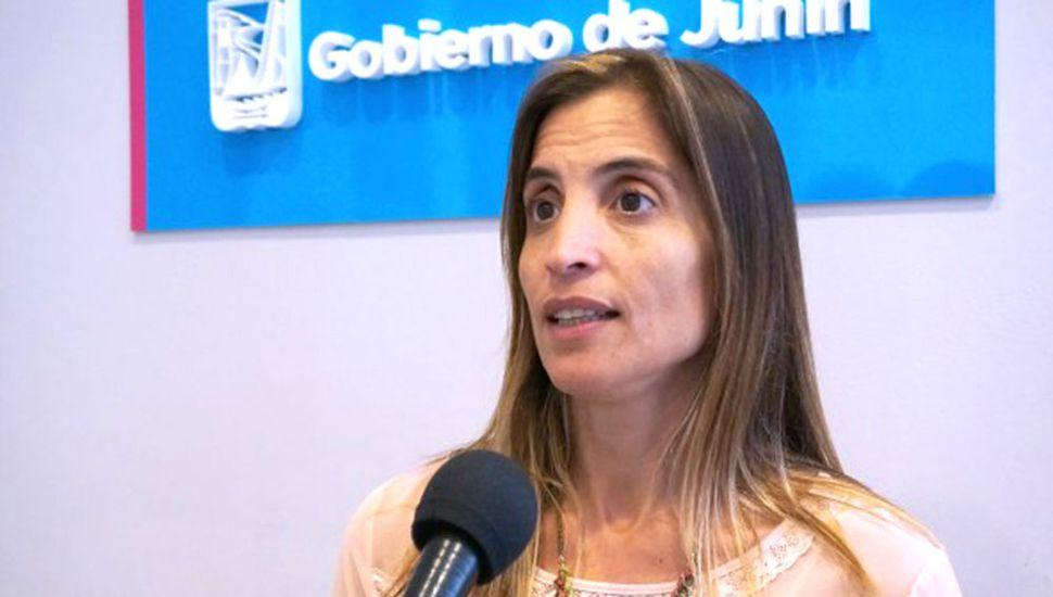 Agustina de Miguel, secretaria de Gobierno del Municipio.
